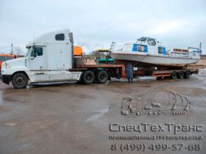 Перевозка буксирного катера проекта КС-110-48