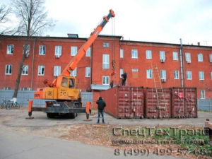 Перевозка 40 футовых контейнеров