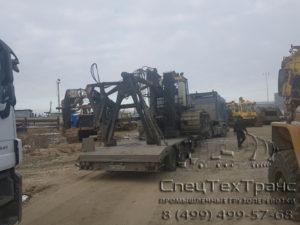 Перевозка болотохода на базе трактора Б 10 МБ