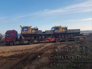 Перевозка вездеходов Четра ТМ 130