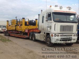 Перевозка бетонораспределителей GOMACO PS-2600