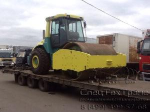 Перевозка дорожного катка ASC 200D