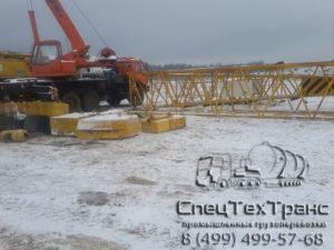 Перебазировка гусеничного крана 100 тонн 11