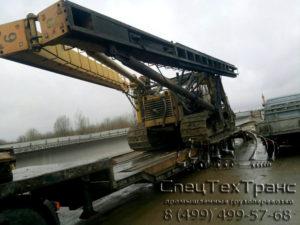 Перевозка Сваебойной установки СП-49 Д 5