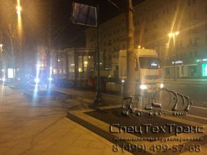 Перевозка павильонов в Москве