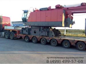 Проектные перевозки в Тамань