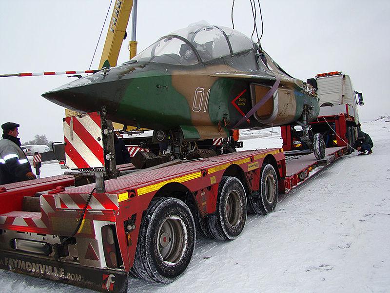 Перевозка военной техники автомобильным транспортом