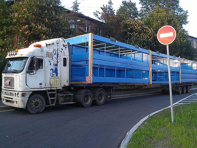 Перевозка строительных конструкций