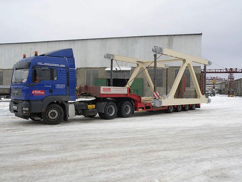 транспортировка строительных конструкций
