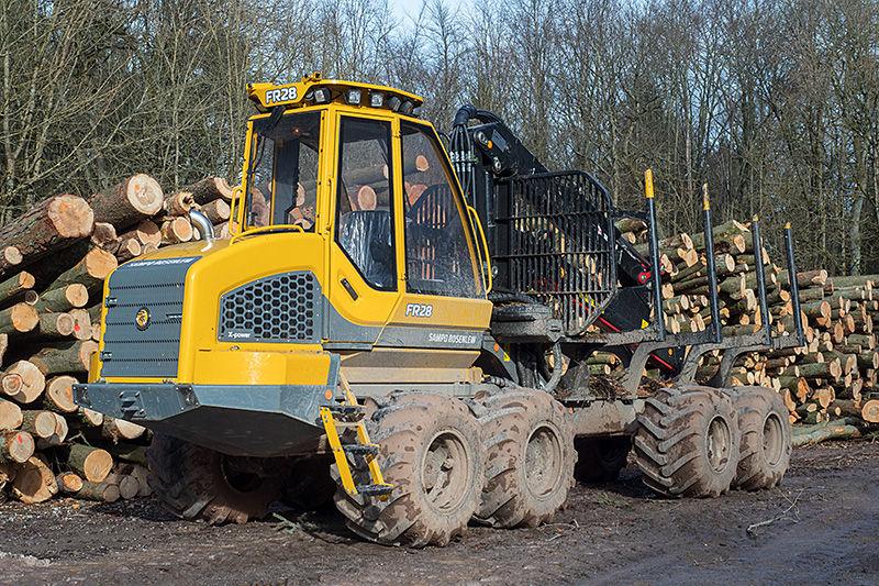 Перевозки лесозаготовительной техники автотранспортом