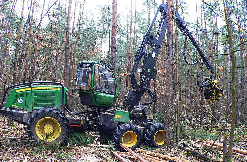 Транспортировка лесозаготовительной техники
