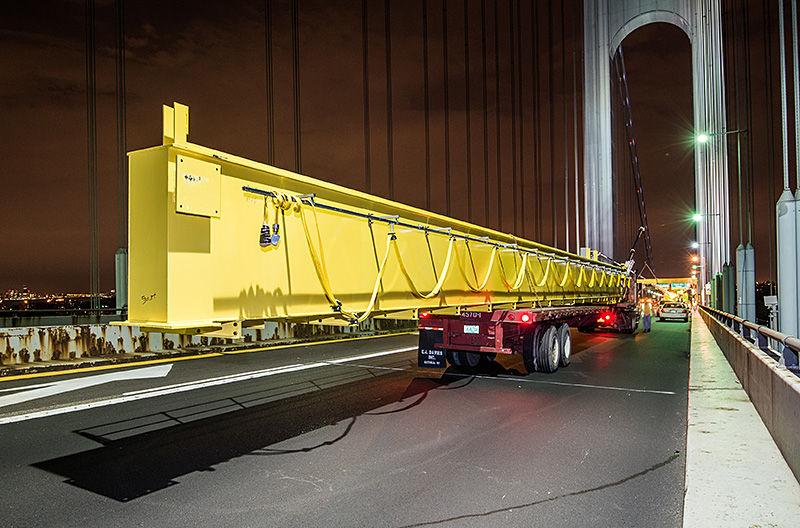 доставка мостовых кранов