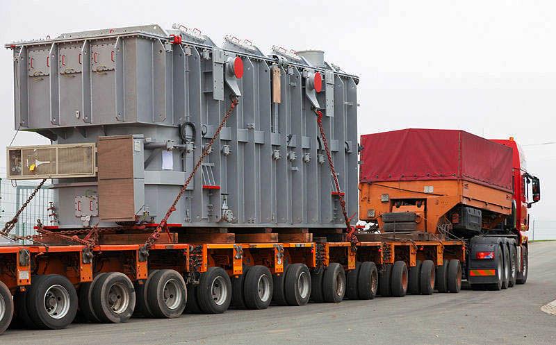 Перевозка трансформаторов в Москве
