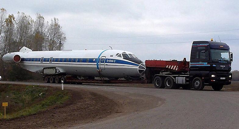 Транспортировка самолетов