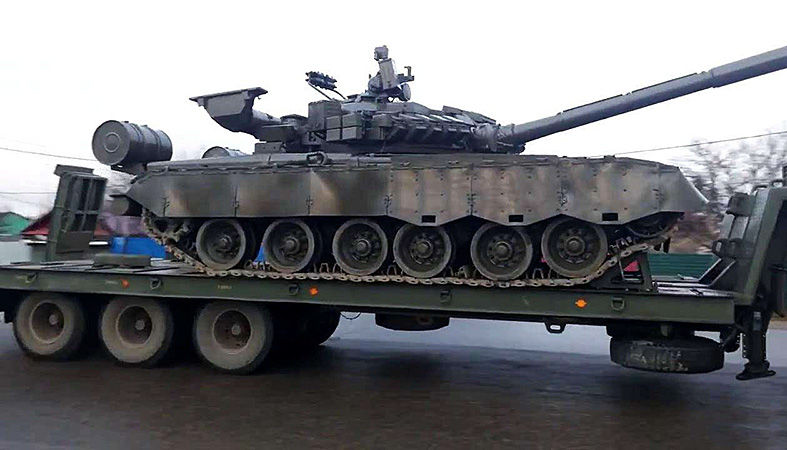 Транспортировка танков