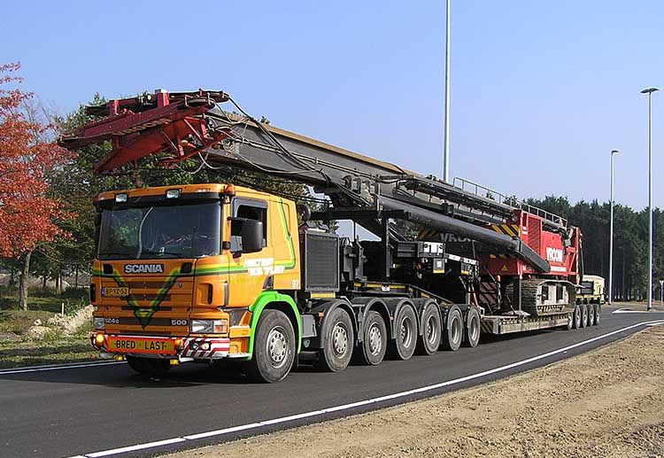 Транспортировка буровых установок