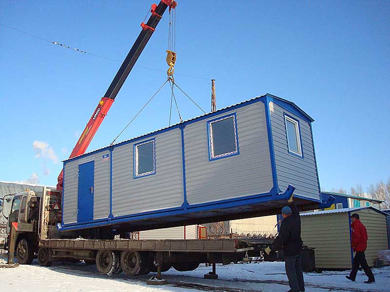перевозка модульных зданий