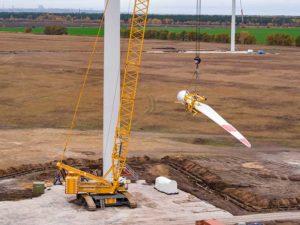 Перевозка ветроустановок Vestas V-164