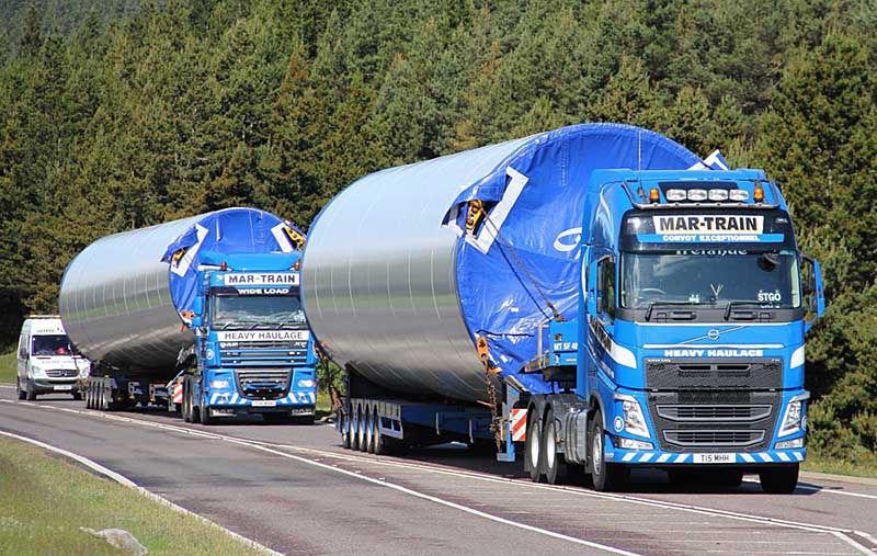 Перевозка турбин