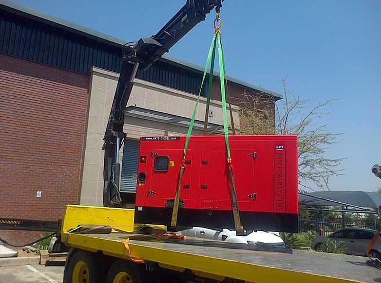 Транспортировка генераторов