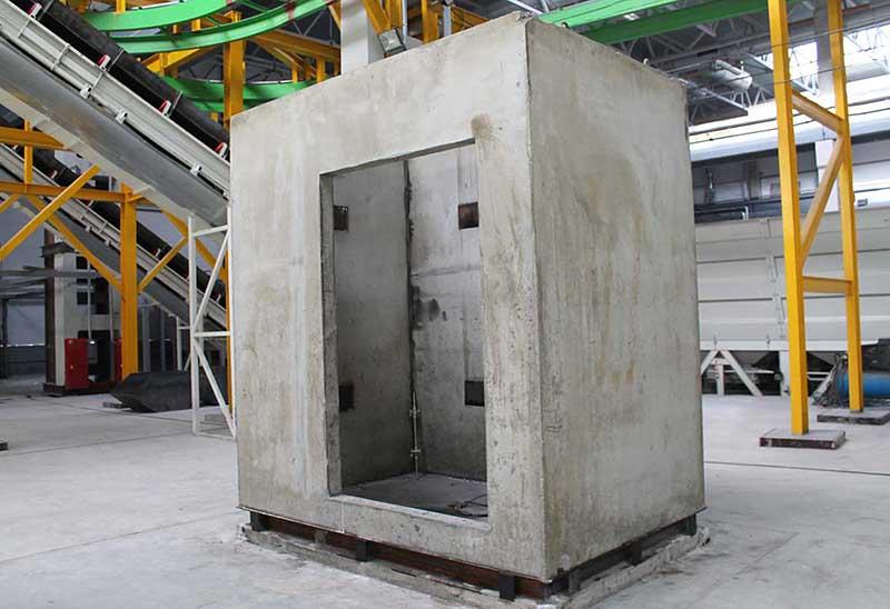 Перевозка шахты лифта