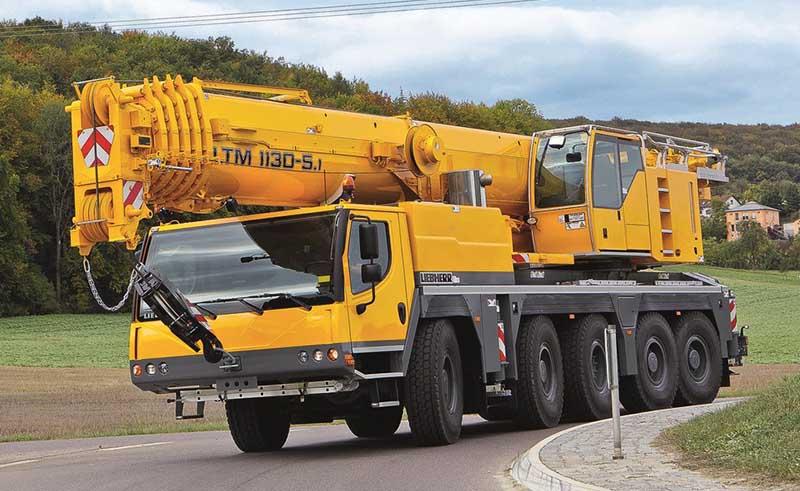 аренда автокрана 130 тонн