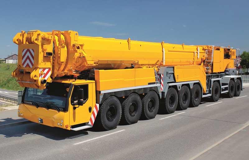 аренда автокрана 800 тонн